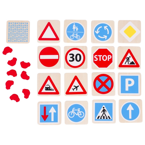 Goki Pexeso Dopravné značky