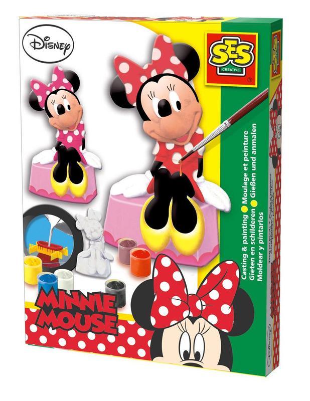 SES Creative Sadrový komplet - Minnie Mouse