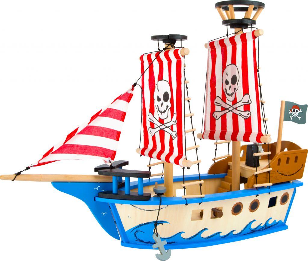 Small Foot Drevená pirátska loď Jack