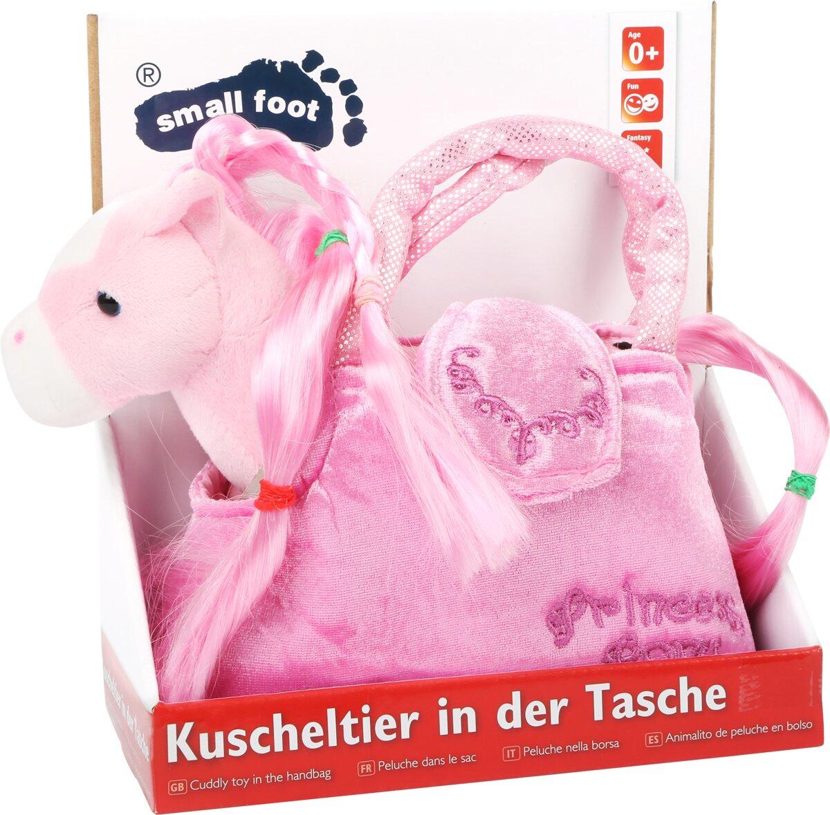 Detská ružová kabelka - Koník v kabelke Paulina 0467ace2d6f