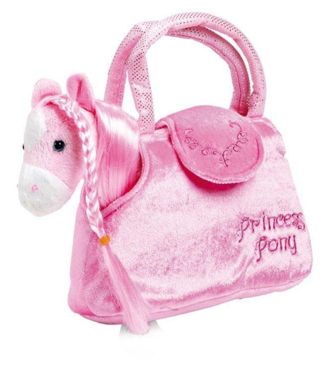 Small Foot Detská ružová kabelka - Koník v kabelke Paulina b10568d9f68