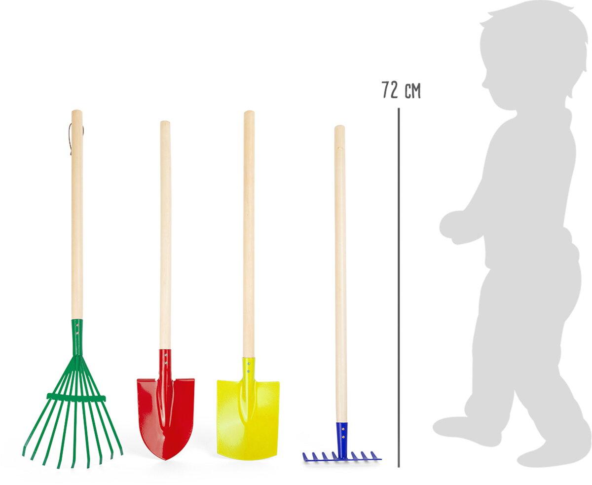 86efead0b9964 Small Foot Set farebného záhradného náradia. PrevNext