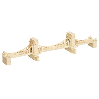 Woodcraft Drevené 3D puzzle Manhattan Bridge most