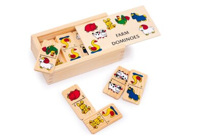 Small Foot Domino farma menšia