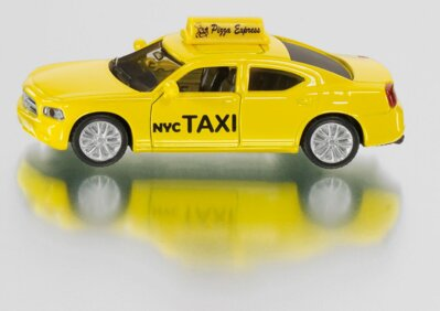 Siku Blister - Dodge Charger Taxi US 1:87