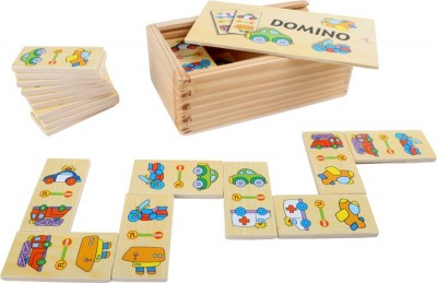 Small Foot Domino v boxe Doprava