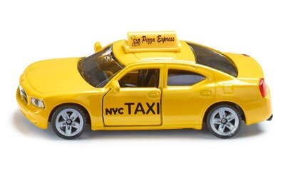 Siku Blister - Dodge Charger Taxi US 1:55