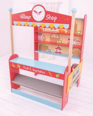 3ada7366eae6 Bigjigs Toys Village detský obchod