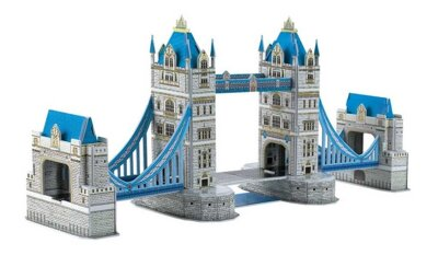 Small Foot Trojvrstvové penové 3D puzzle Tower Bridge 41 ks