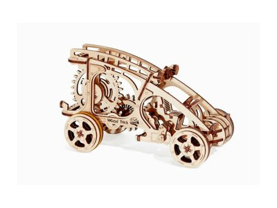 Wood Trick 3D mechanické puzzle - Auto Buggy 144 ks
