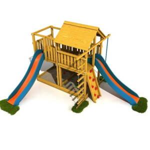 b863aa42c570e Kompletné drevené detské ihrisko a ihriská na záhradu