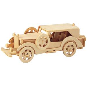 Woodcraft Drevené 3D puzzle Ford model V8